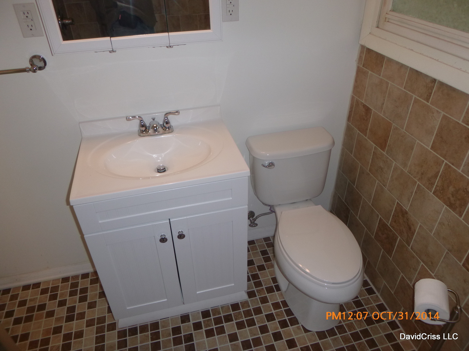 Small Bathroom Remodel - How to remodel an old bathroom