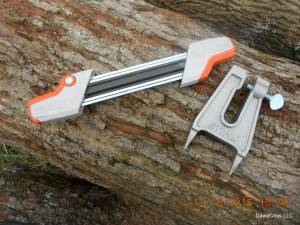 Stihl chain saw sharpener with stump vise