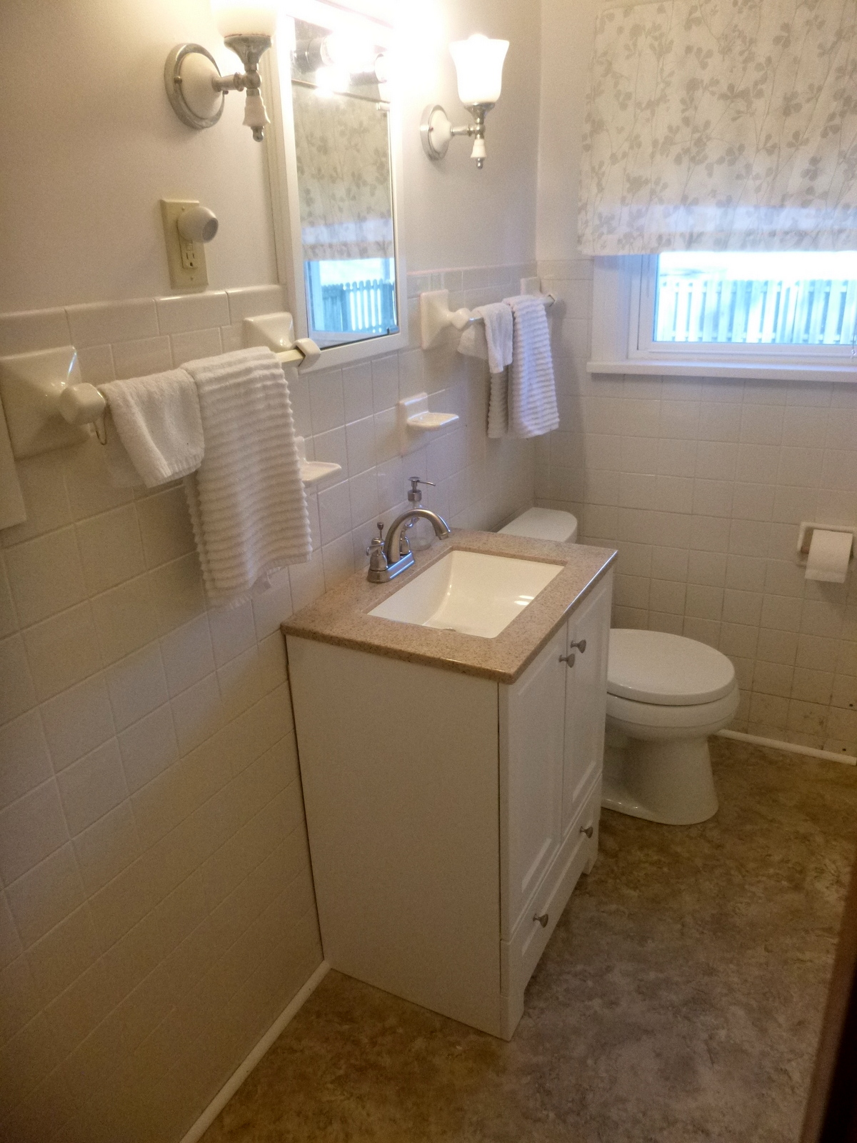 Leaky Toilet Results In Bathroom Repair And Remodel - Bathroom repair and remodel